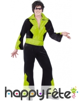 Costume elvis vert anis