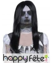 Cagoule fantôme avec cheveux, image 2