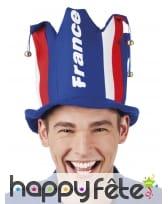 Chapeau France avec grelots