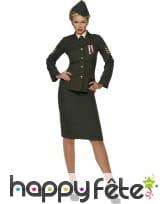 Costume femme d'officier sexy