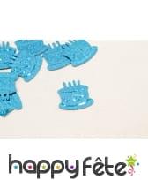 Confettis gâteau d anniversaire de table, image 4