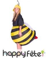 Costume gonflable d'abeille pour adulte