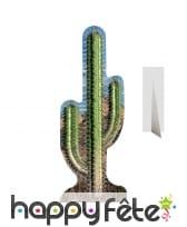 Cactus géant en carton plat