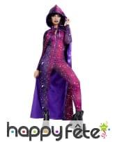 Cape galactique violette pour femme