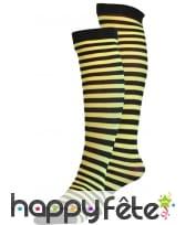 Chaussettes haute abeille