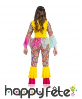 Costume hippie arc en ciel avec tulle, femme, image 1