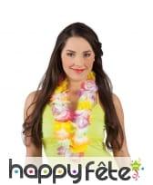 Collier Hawaïen coloris fluo