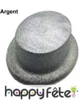 Chapeau haut de forme à paillettes, image 1