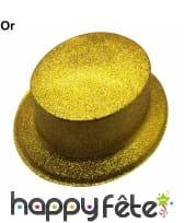 Chapeau haut de forme à paillettes, image 2