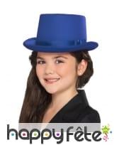 Chapeau haut de forme uni pour enfant, image 1