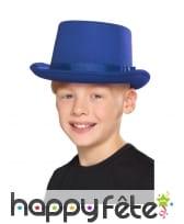 Chapeau haut de forme uni pour enfant, image 2