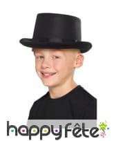 Chapeau haut de forme uni pour enfant, image 3