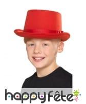 Chapeau haut de forme uni pour enfant, image 4