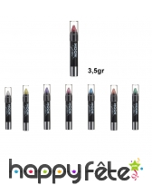 Crayon holographique de maquillage, 3,5gr