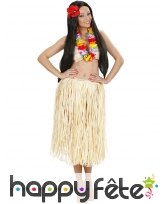 Collier Hawaïen multicolore de 84cm, image 2