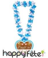Collier hawaïen Oktoberfest avec coeur