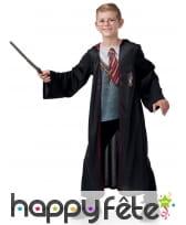 Coffret Harry Potter costume et accessoires enfant