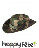Chapeau imprimé camouflage pour adulte, image 1