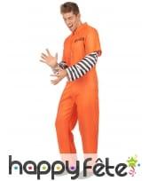 Combinaison immatriculée orange de prisonnier, image 1