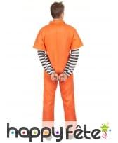 Combinaison immatriculée orange de prisonnier, image 2