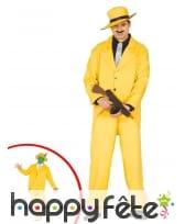 Costume jaune The Mask