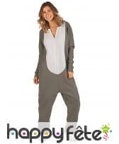 Combinaison koala à capuche pour femme, image 1