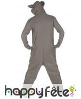 Combinaison koala à capuche pour homme, image 2