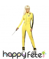 Costume Kill Bill jaune