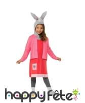 Costume Lily Bobtail pour fillette, Pierre Lapin
