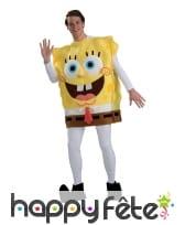 Costume luxe de Bob l'éponge pour adulte