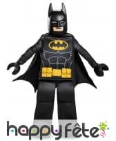 Costume luxe de lego Batman pour enfant
