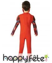 Costume luxe de Power Rangers rouge pour enfant, image 2