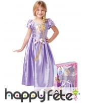 Costume luxe de Raiponce en coffret pour enfant