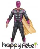Costume luxe de Vision pour homme Avengers 2