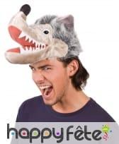Chapeau loup gris, image 1