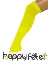 Chaussettes longues jaunes