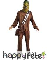 Costume licence star wars chewbacca