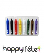 Crayons maquillages 8 couleurs, image 3