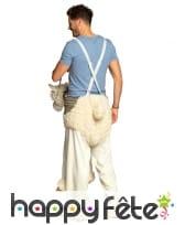 Carry me à dos de lama pour adulte, image 4
