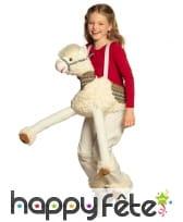 Carry me à dos de lama pour enfant, image 2