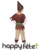 Costume marron de petit robin, image 3