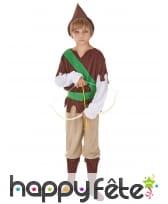 Costume marron de petit robin des bois, image 1