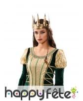 Couronne médiéval de reine