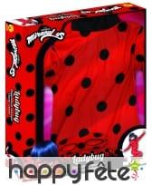 Costume Miraculous Lady Bug en coffret pour fille, image 2