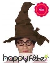 Chapeau marron pointu pour adulte