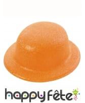 Chapeau melon pailletté, image 2