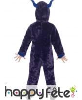 Combinaison monstre violet pour enfant, image 2
