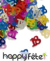 Confettis n°18 multicolores