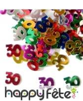 Confettis n°30 multicolores