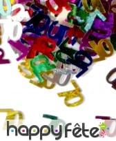 Confettis n°70 multicolores
